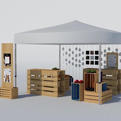 Doriana pompili art station stand