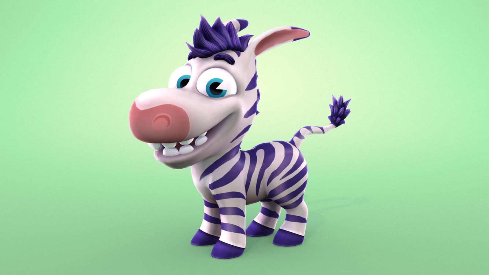 'Tiny Zebra' Main Character