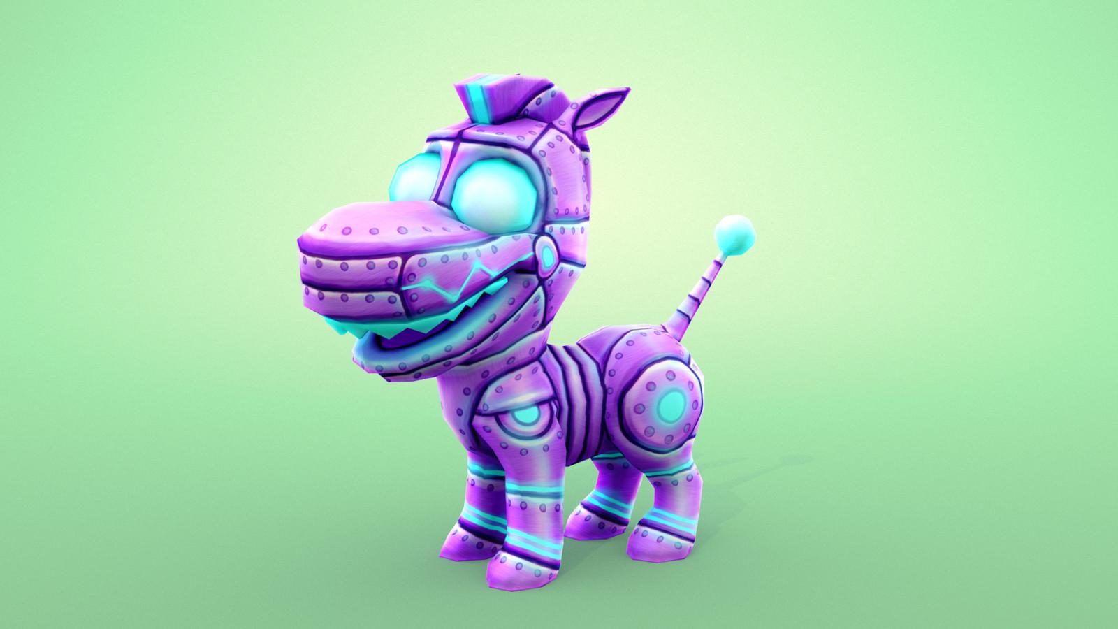 Opponent. Robo horse.