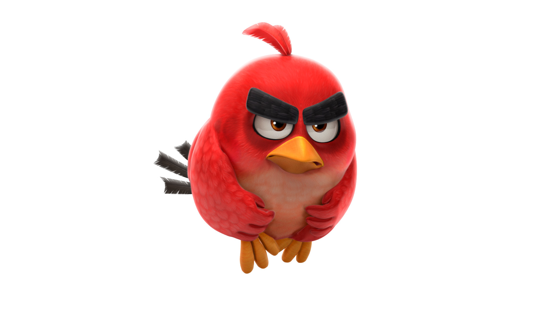 Promo Character Render. Angry Birds Action! Character texture, pose, lighting and render created by myself.