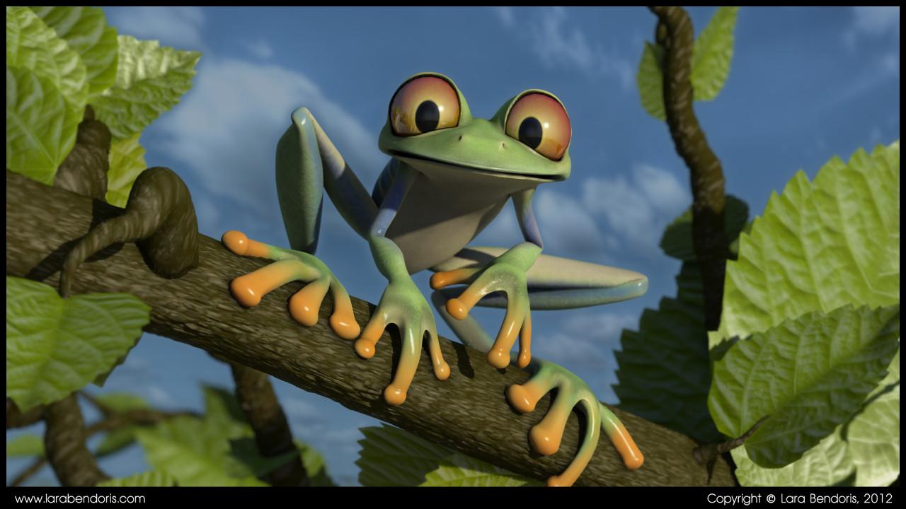 Lara bendoris frog1