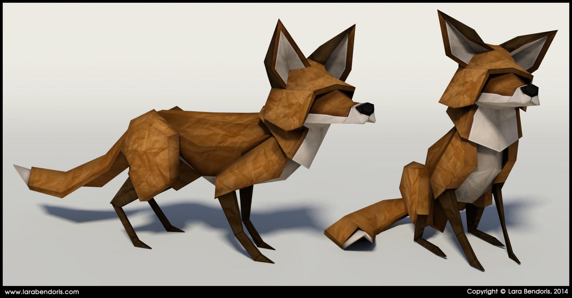 Lara bendoris fox2