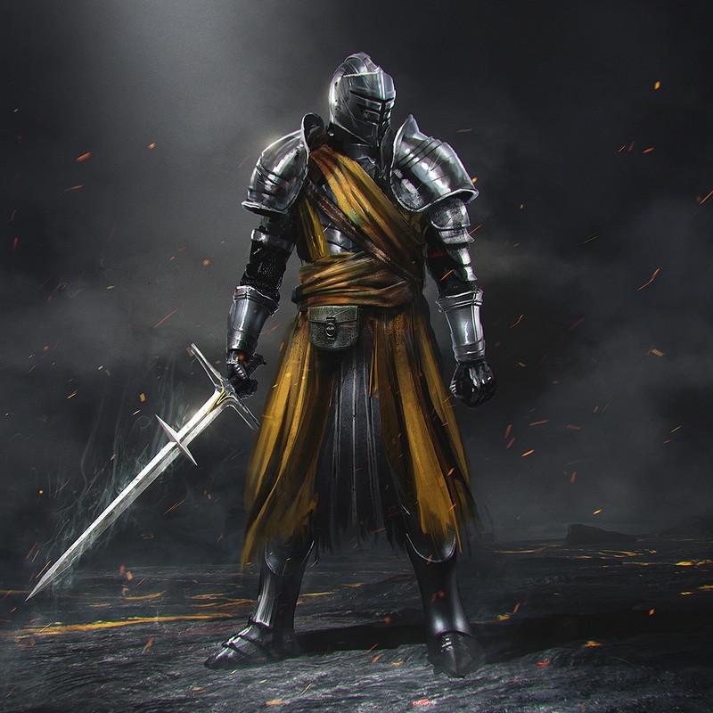 Knight Zweihander concept
