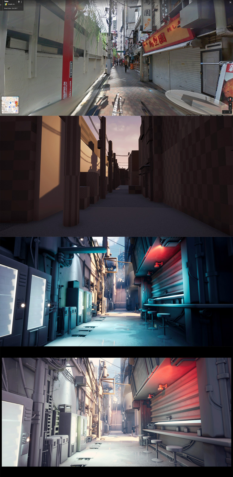 From reference to final detail lighting