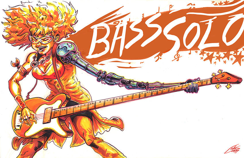 Chris scott bass solo