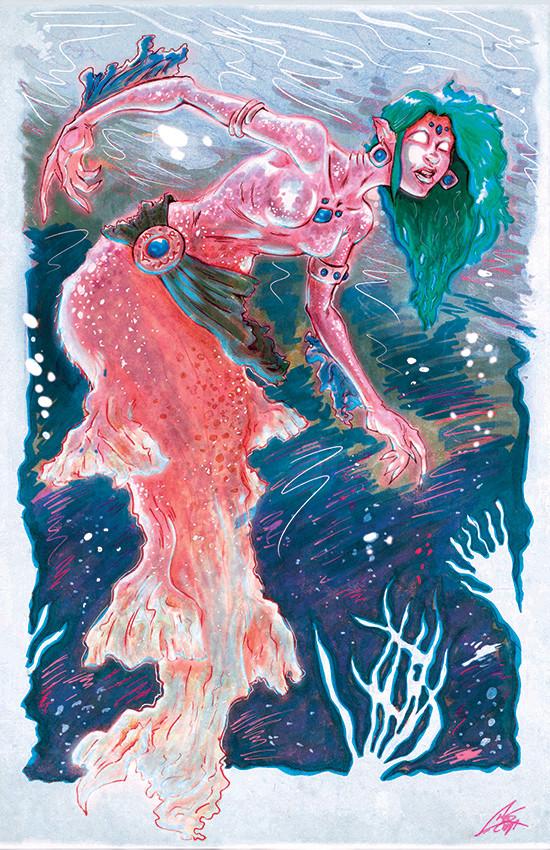 Chris scott mermaidrecolor