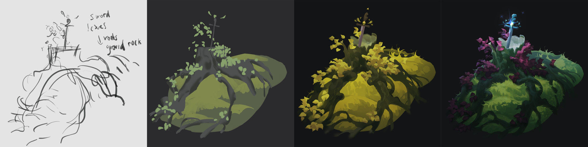 Iris muddy swordtreestep