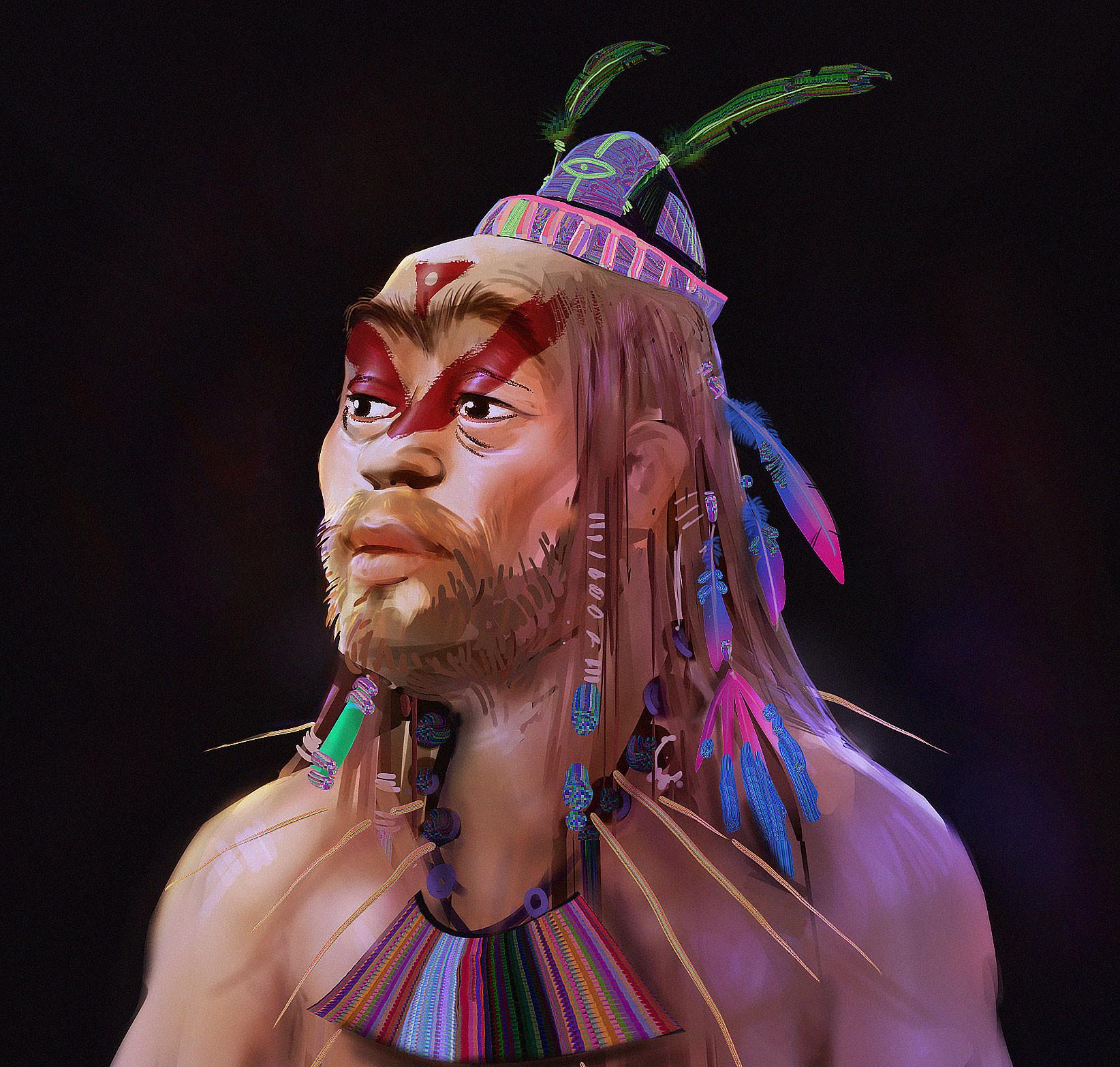 Kemane ba procedualsewing shaman