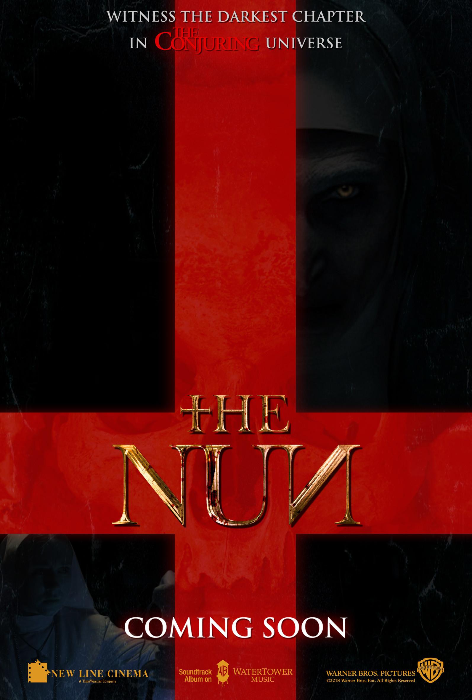 Chris rena the nun antichrist poster v1 2