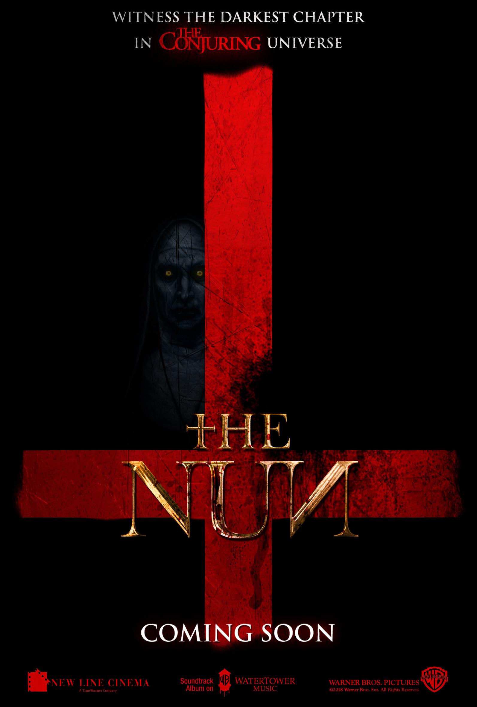 Chris rena the nun antichrist poster v3