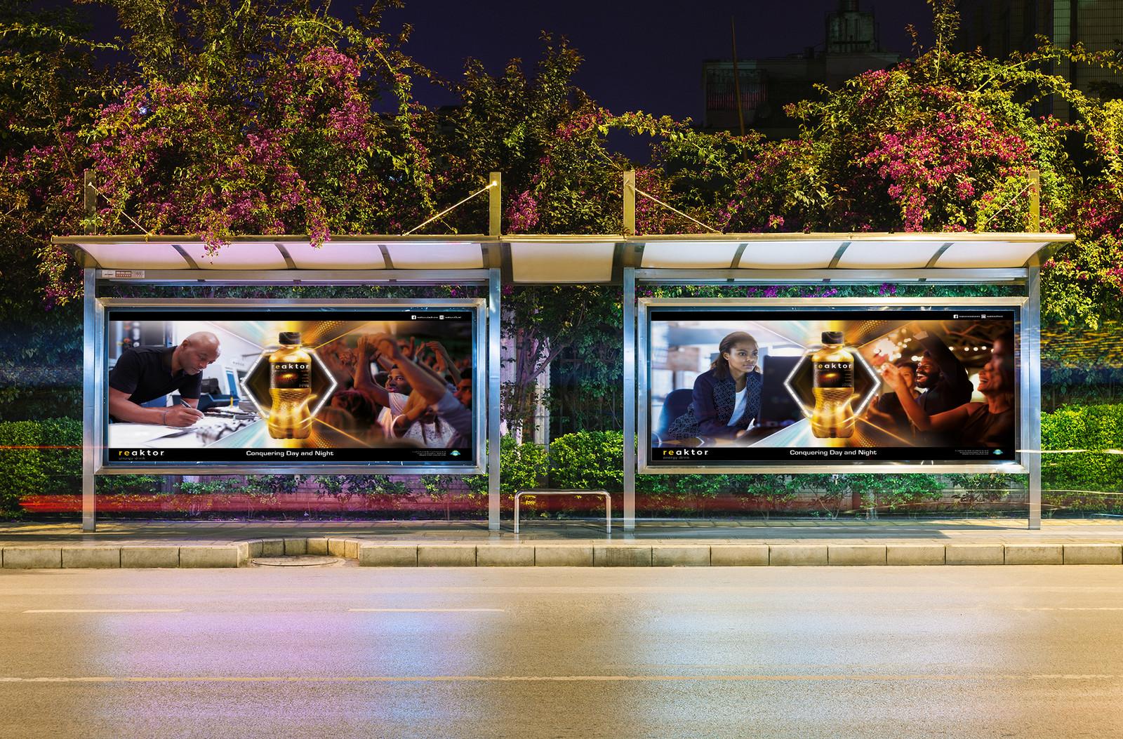 DA affiche 6x3 campagne REACTOR par Auduge dit ALACASA