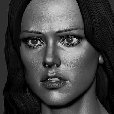 Woman face study WIP
