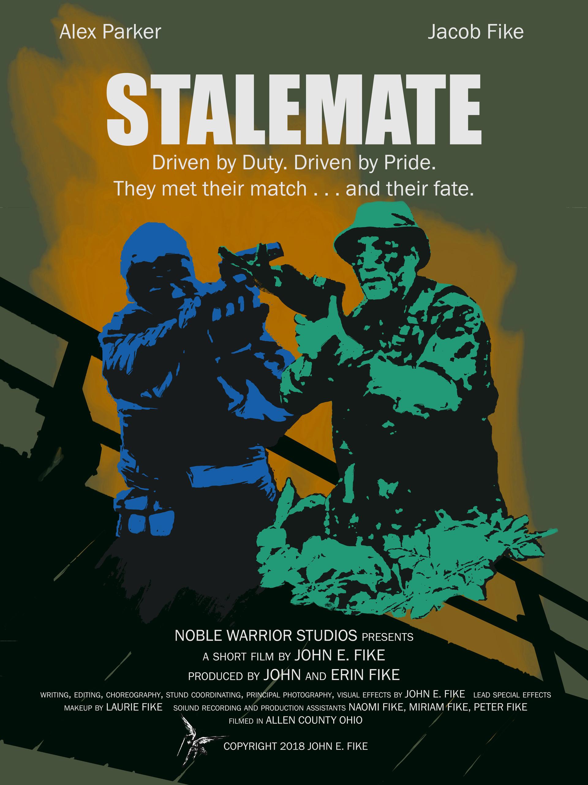 John Fike - STALEMATE Movie Poster