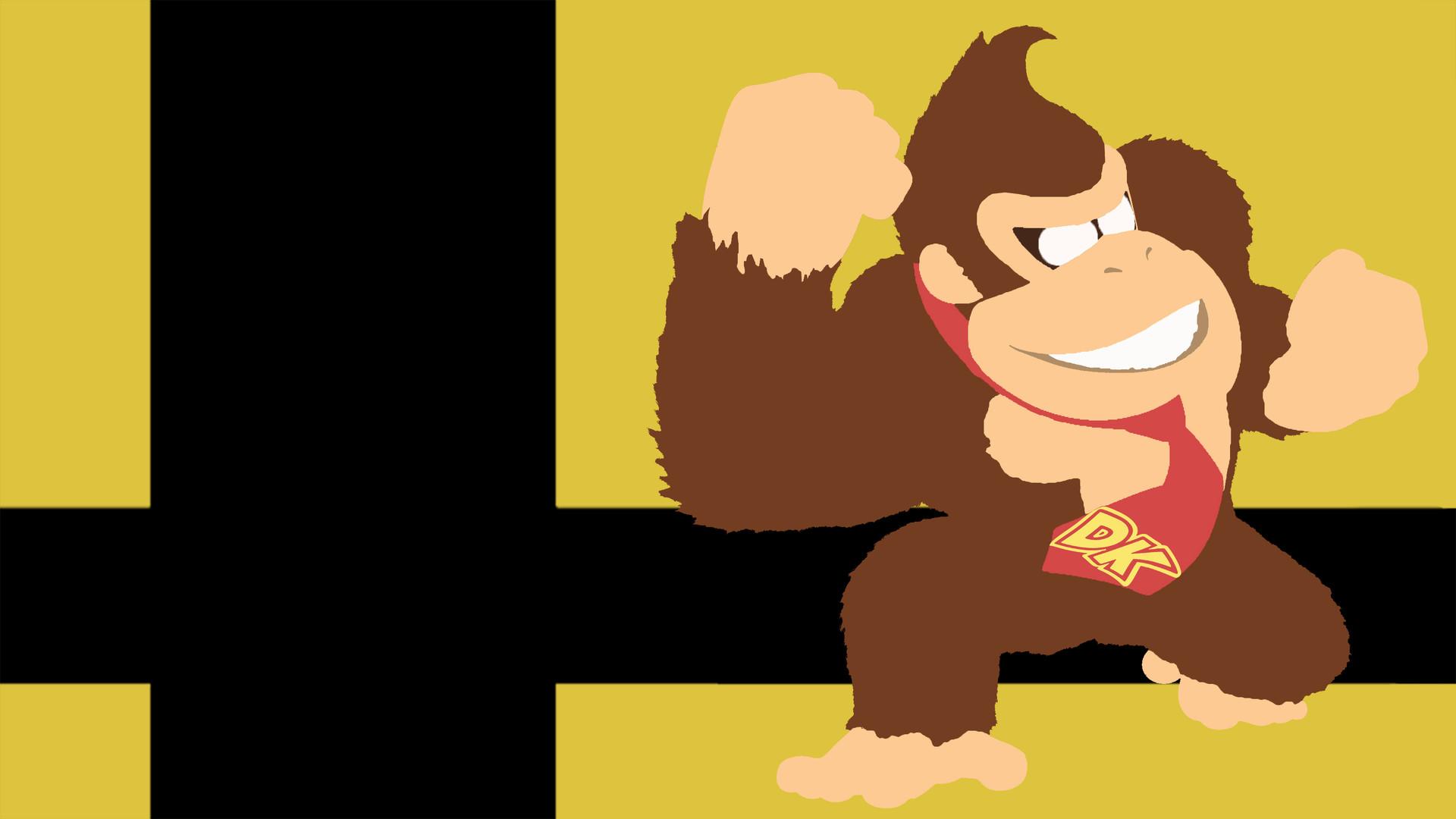 Artstation Super Smash Bros Ultimate Wallpaper Donkey Kong