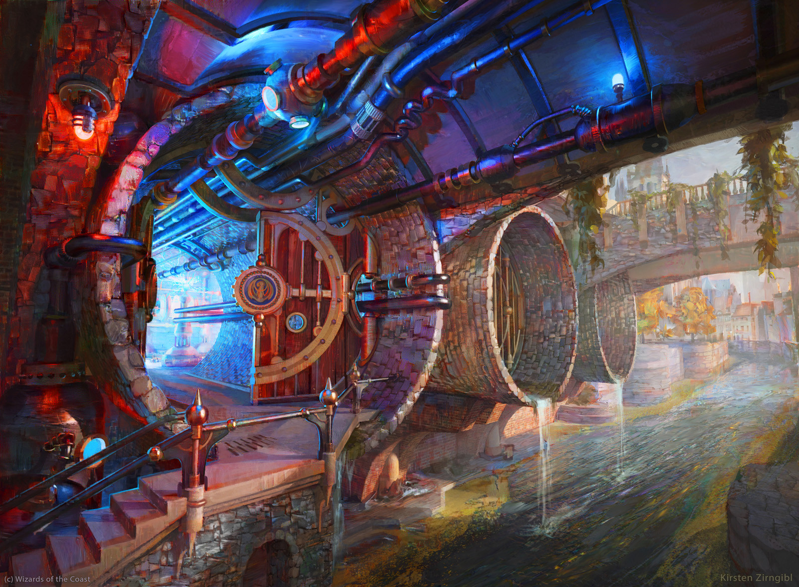 Izzet Guildgate (Secret Entrance)