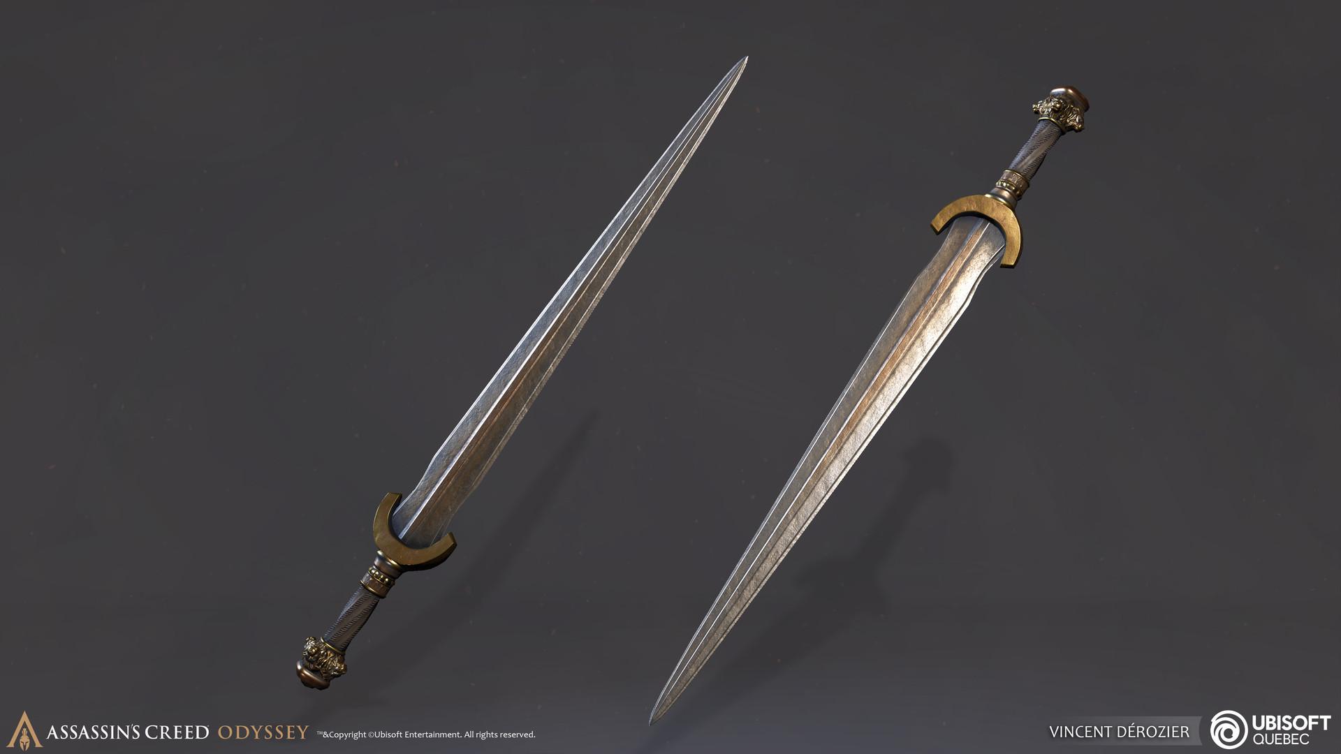 Vincent derozier props sword 2