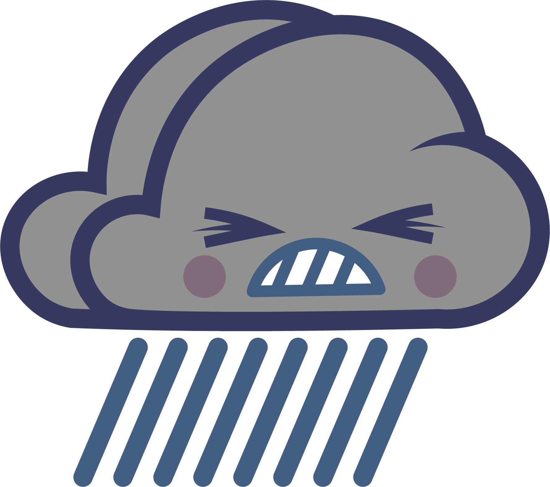 Glenn melenhorst raining cloud
