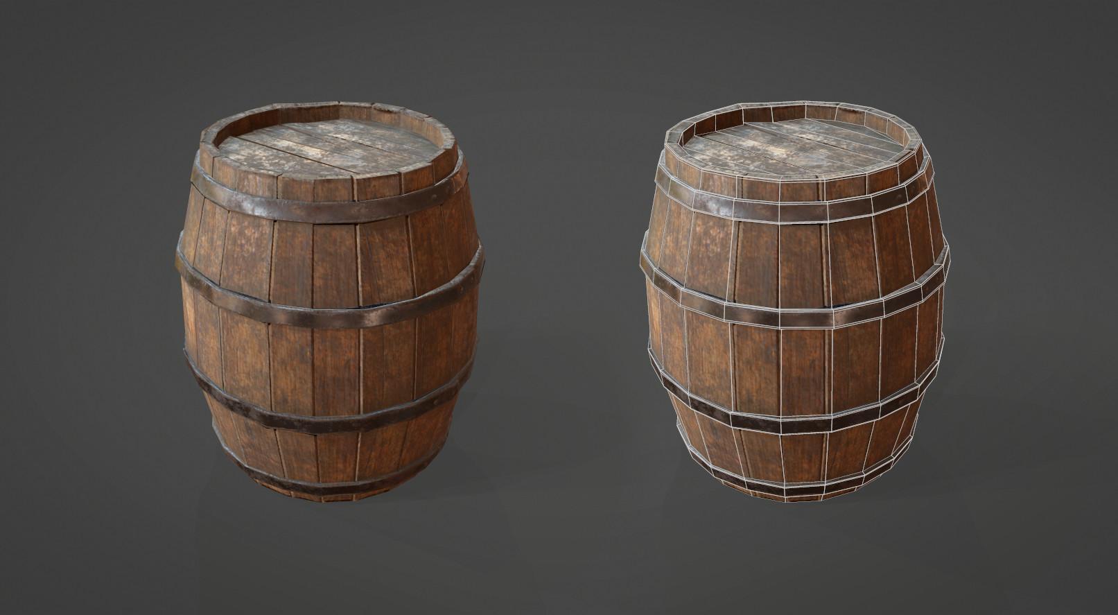 Alina godfrey barrel wireframe