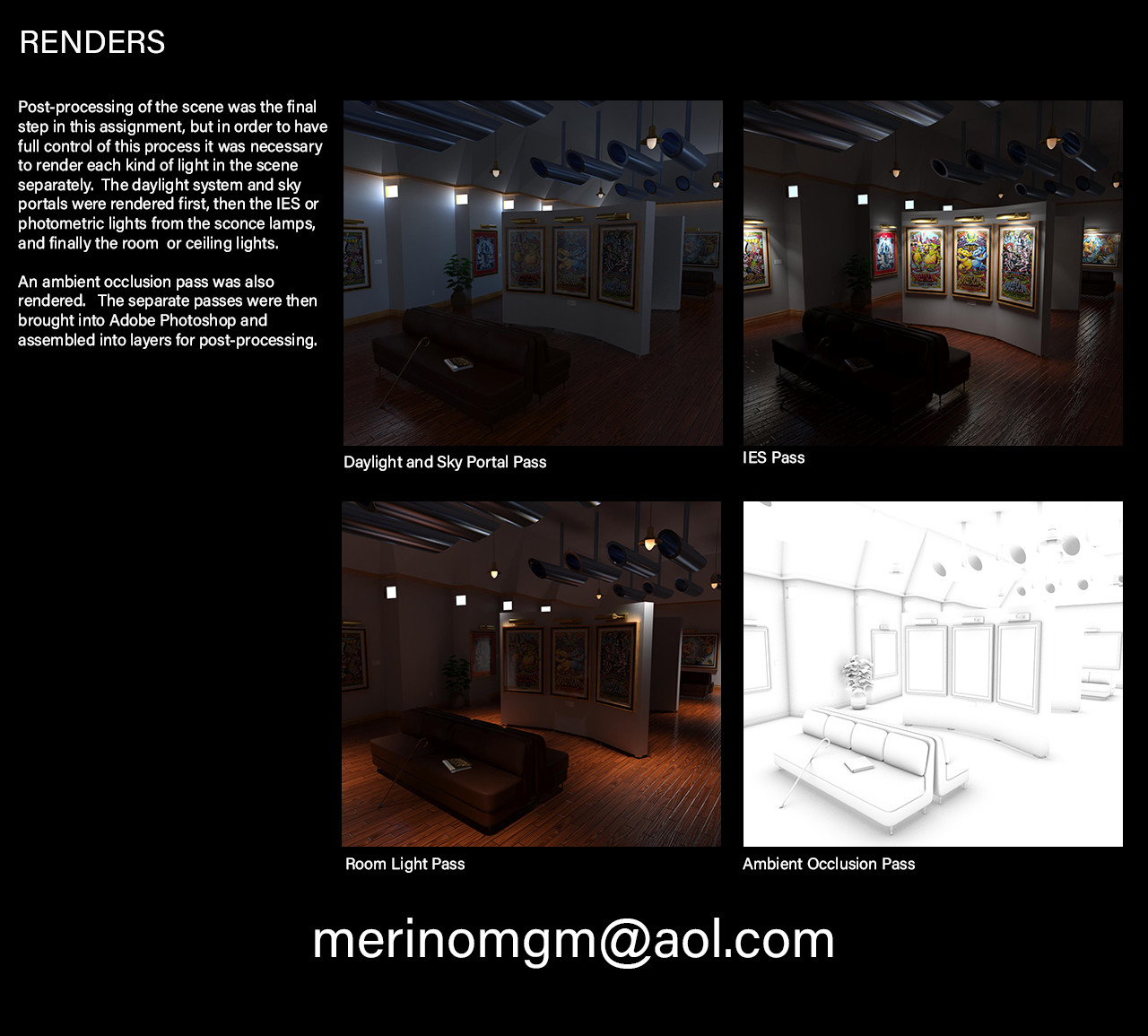 Mario merino museum render passes