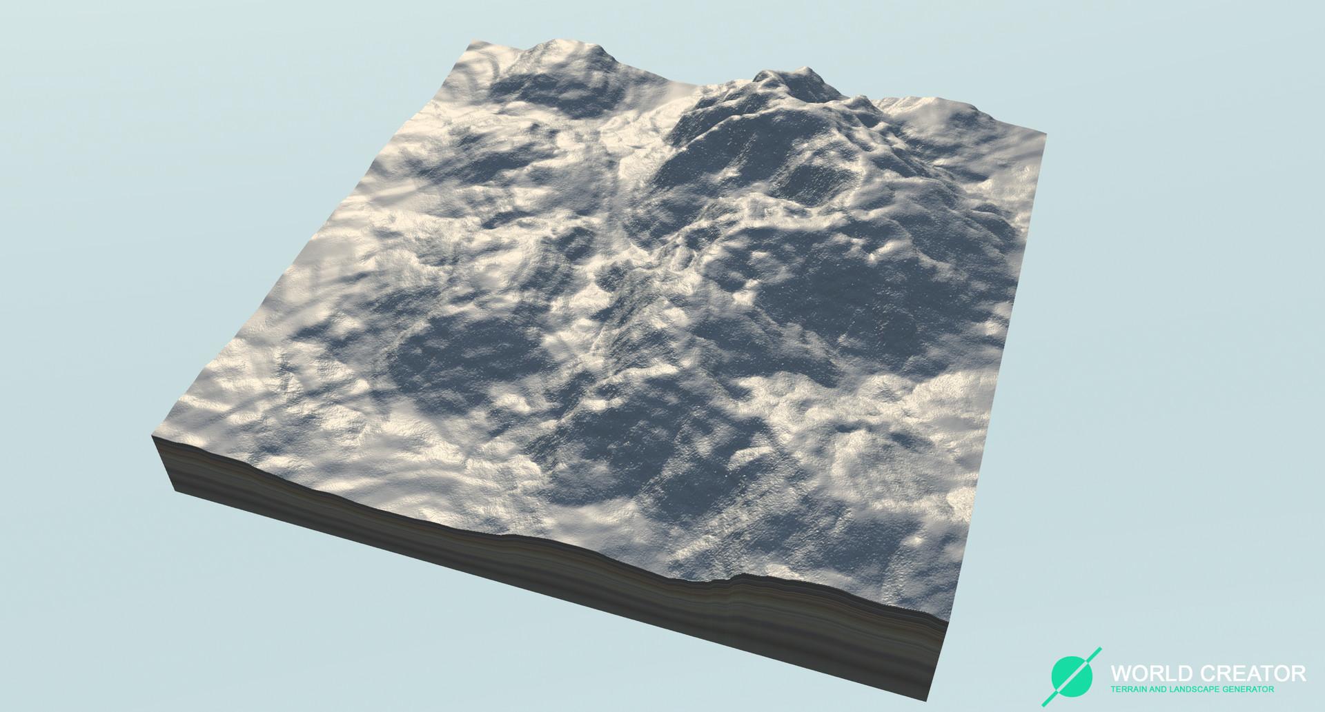 Summary -> World Creator A Procedural Terrain And Landscape