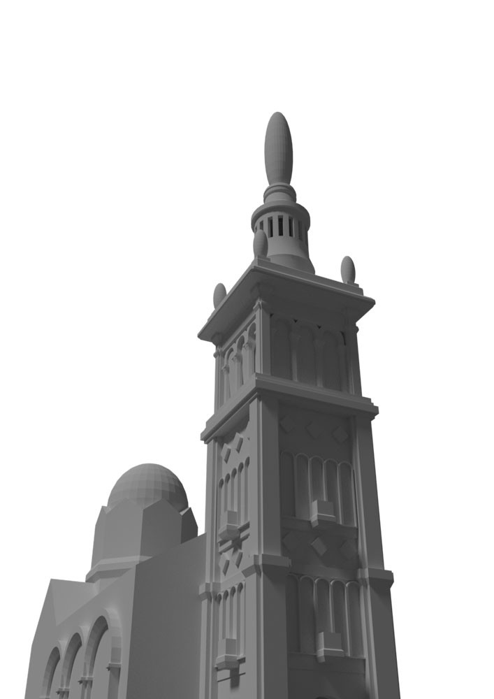 3D blockout based on reference