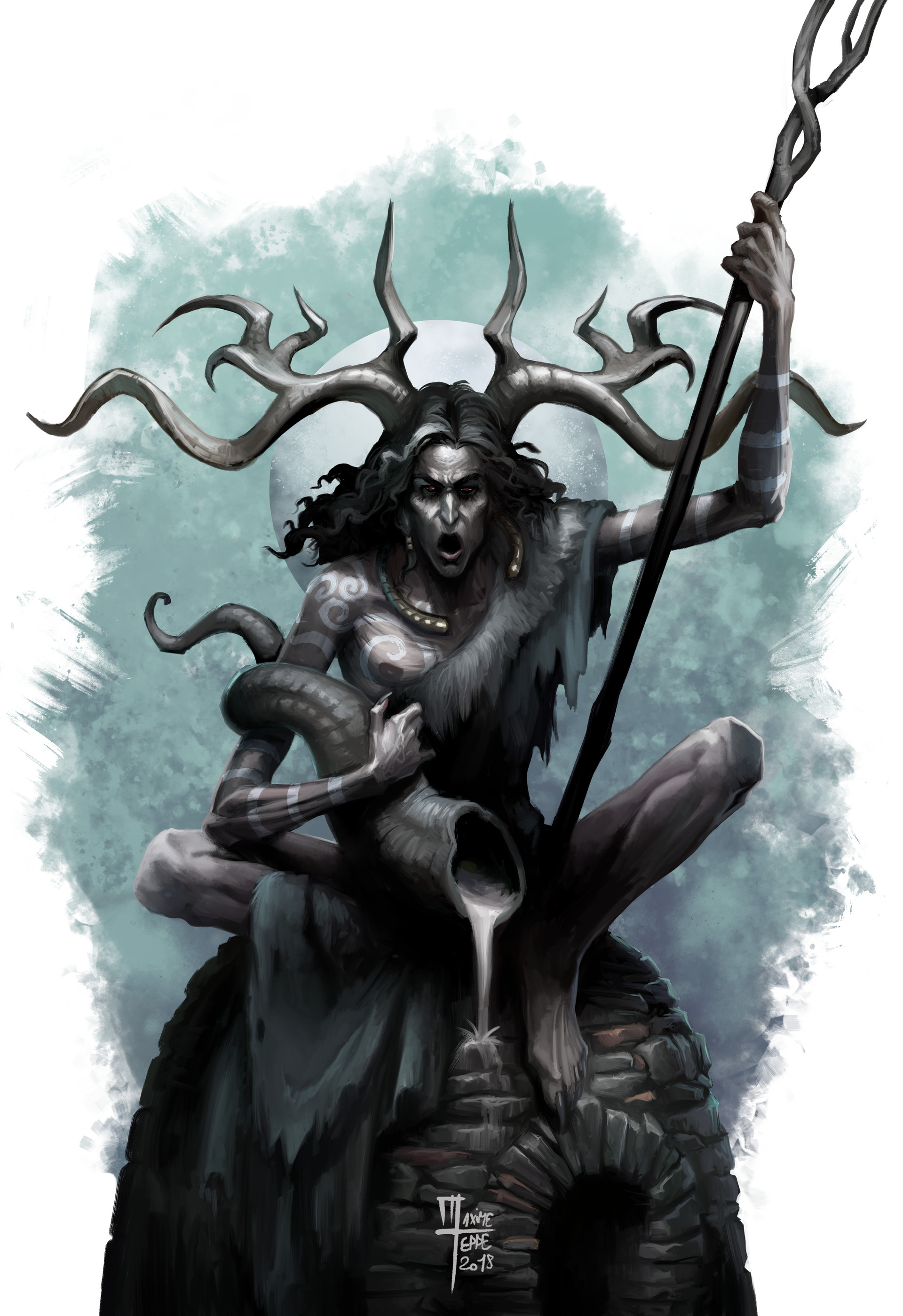 Cernunnos - avatar of nyarlatothep