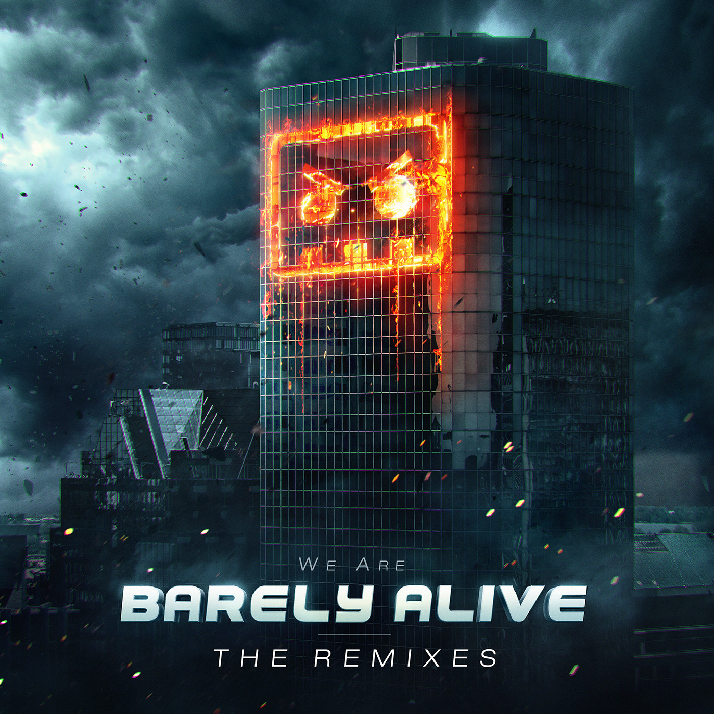 Eric hallquist we are barely alive the remixes art 1400px