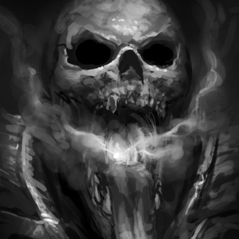 Smoker Skull Sketch