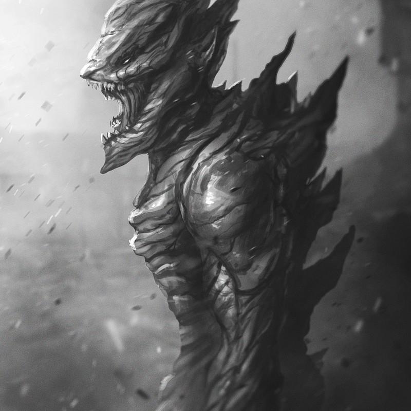 Bug Alien sketch