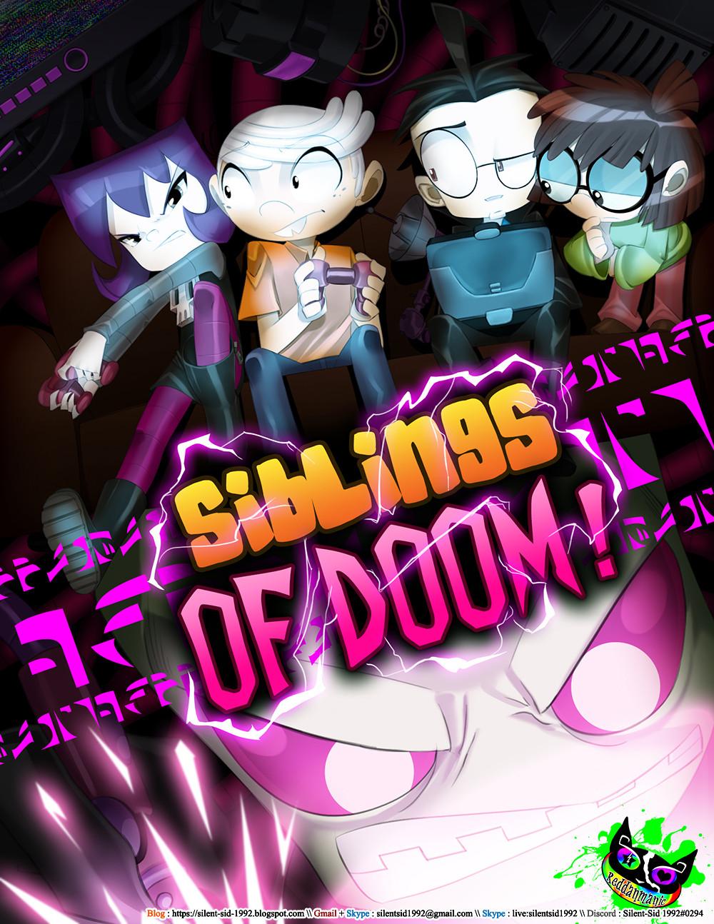 Artstation Invader Zim X The Loud House Siblings Of Doom Cover