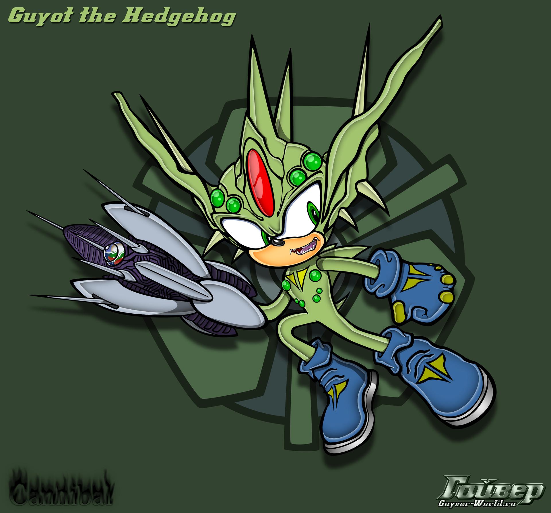 Artstation Guyot The Hedgehog Sonic Team Sonic Adventure Style Igor Taradainik