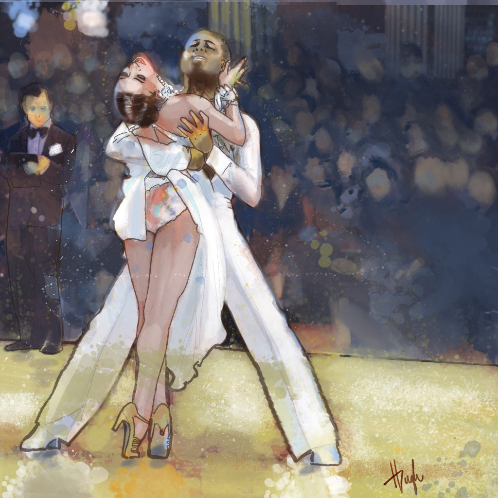 Illustrated Guide To Ballroom Dancing
