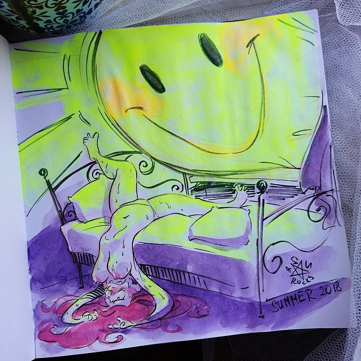 Random Sketch Adventures of Olga A.