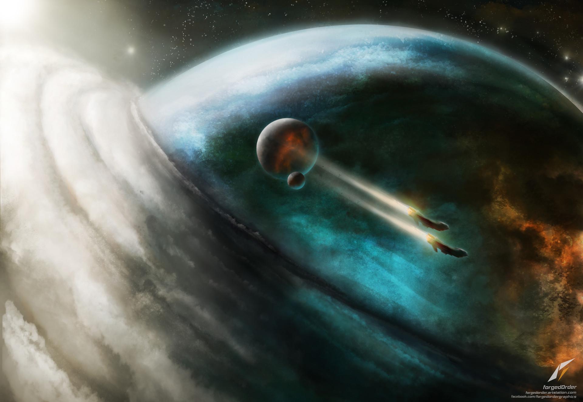 Attila gallik forgedorder into orbit2