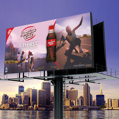 Auduge lydia billboard mockup 4 3