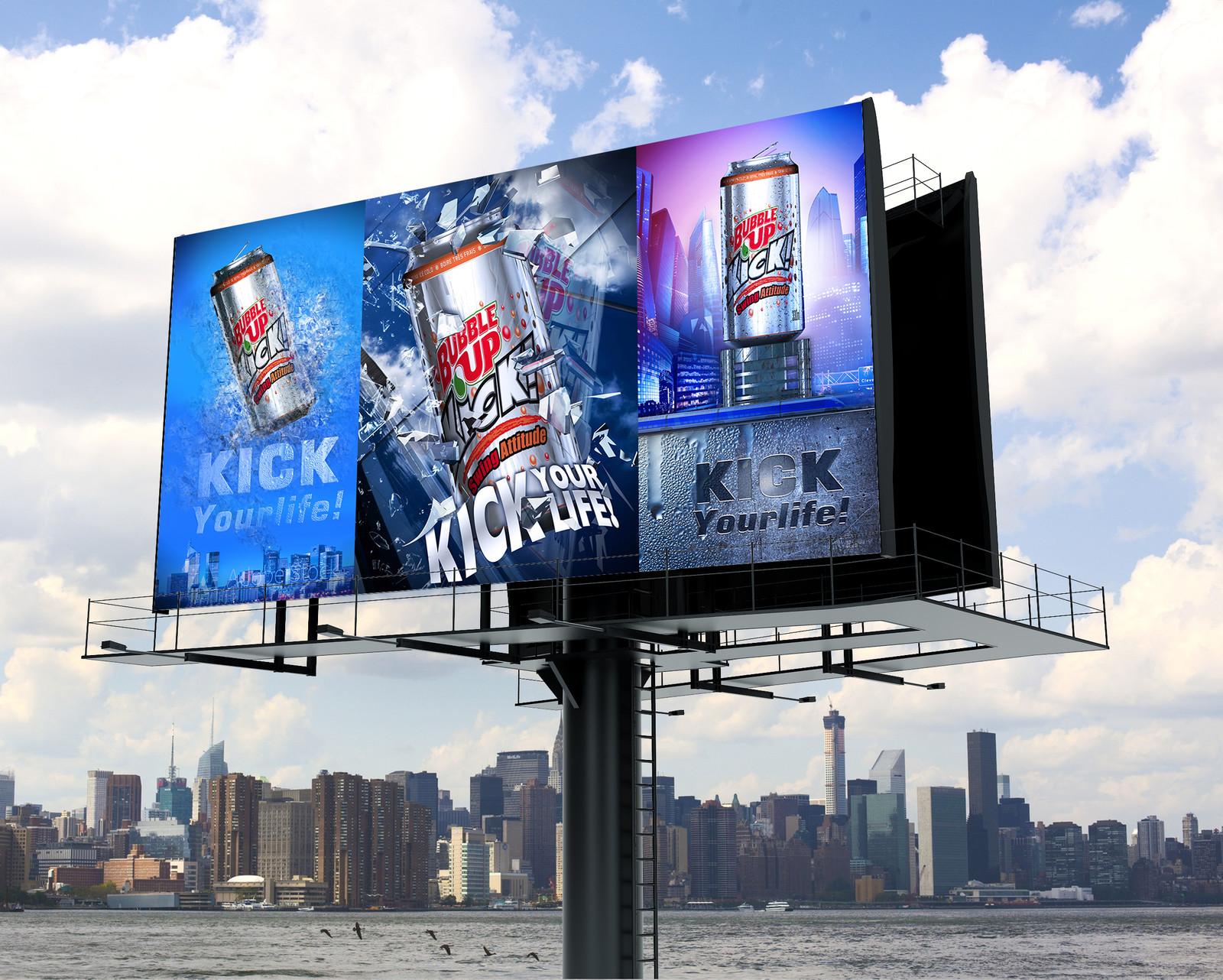 DA Campagne Soda Bubble Up par Auduge dit ALACASA