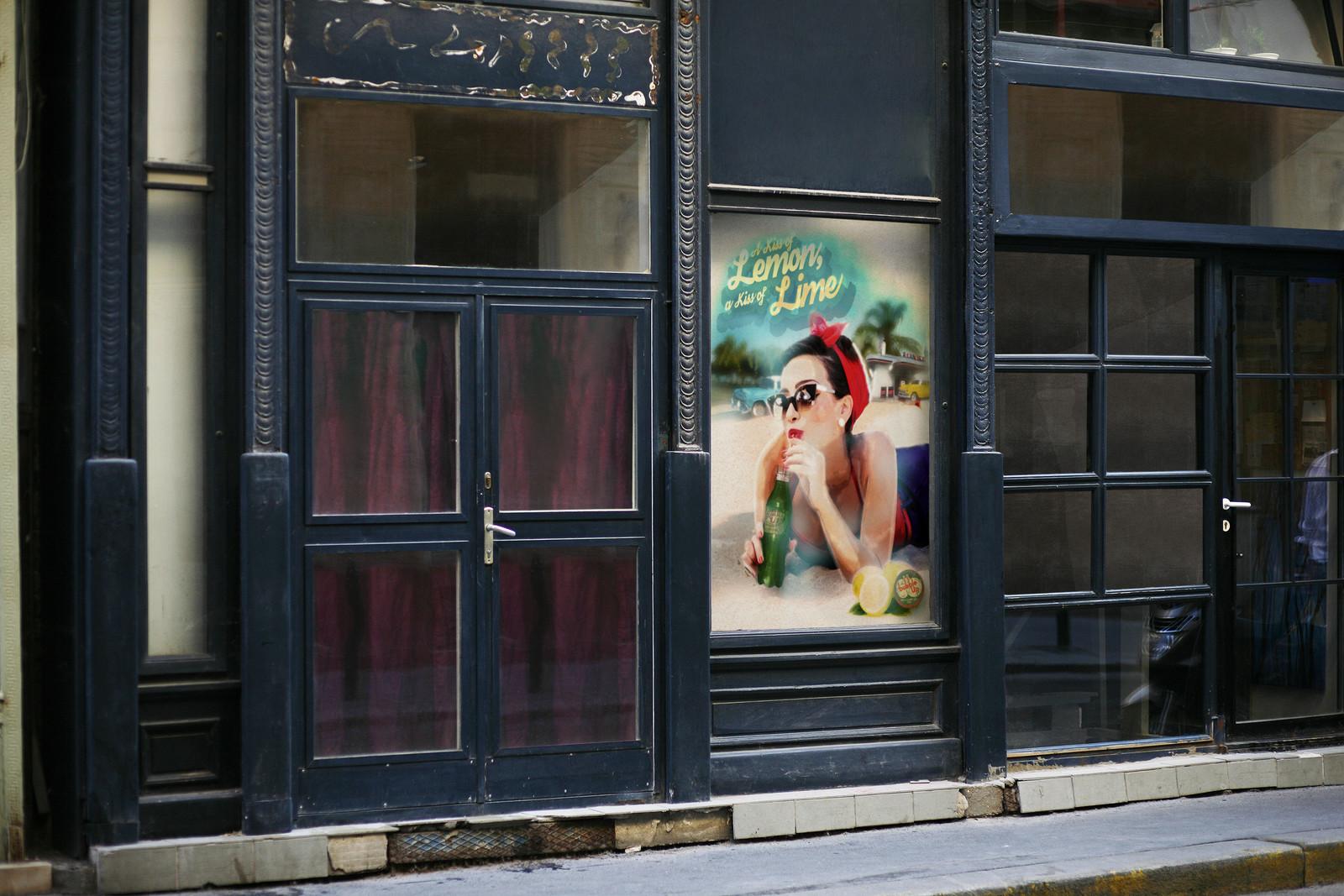 DA conception campagne vintage par Auduge dit ALACASA