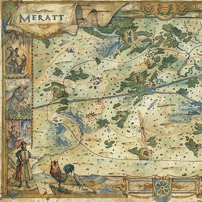 Francesca baerald fbaerald merattmap paizo pathfinder warforthecrown