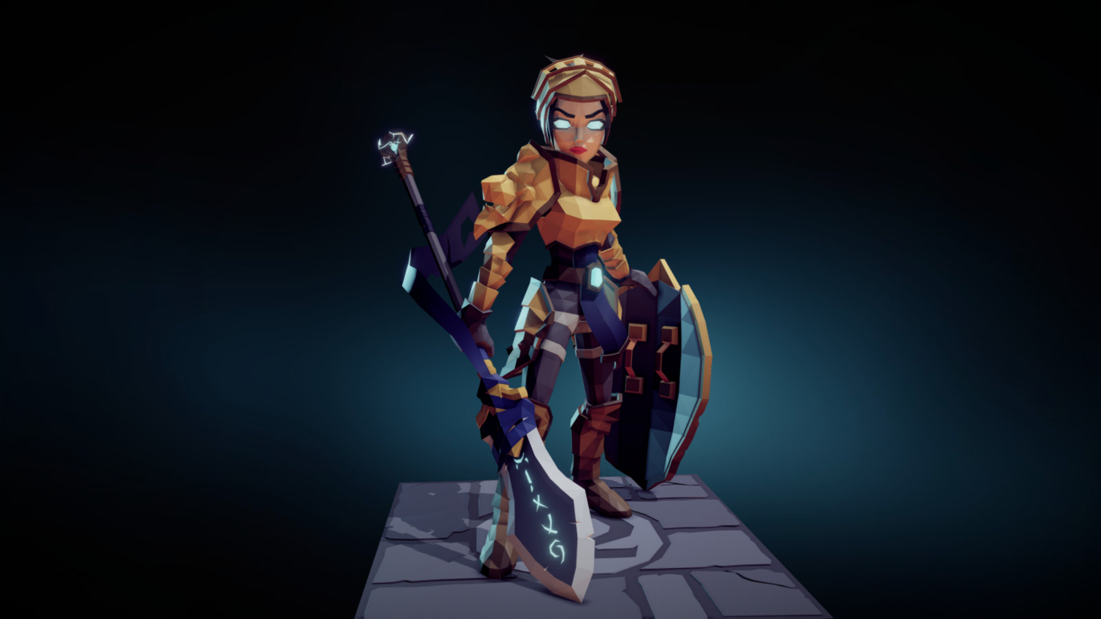 Modular Female Warrior
