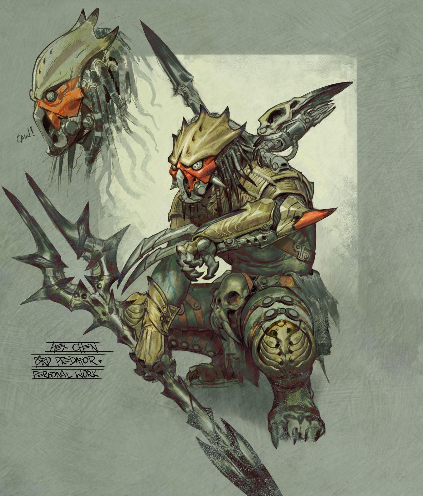 Bird Predator (personal work)