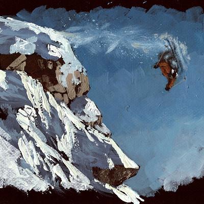 Mathieu lafay montagnes neige skieur lafay