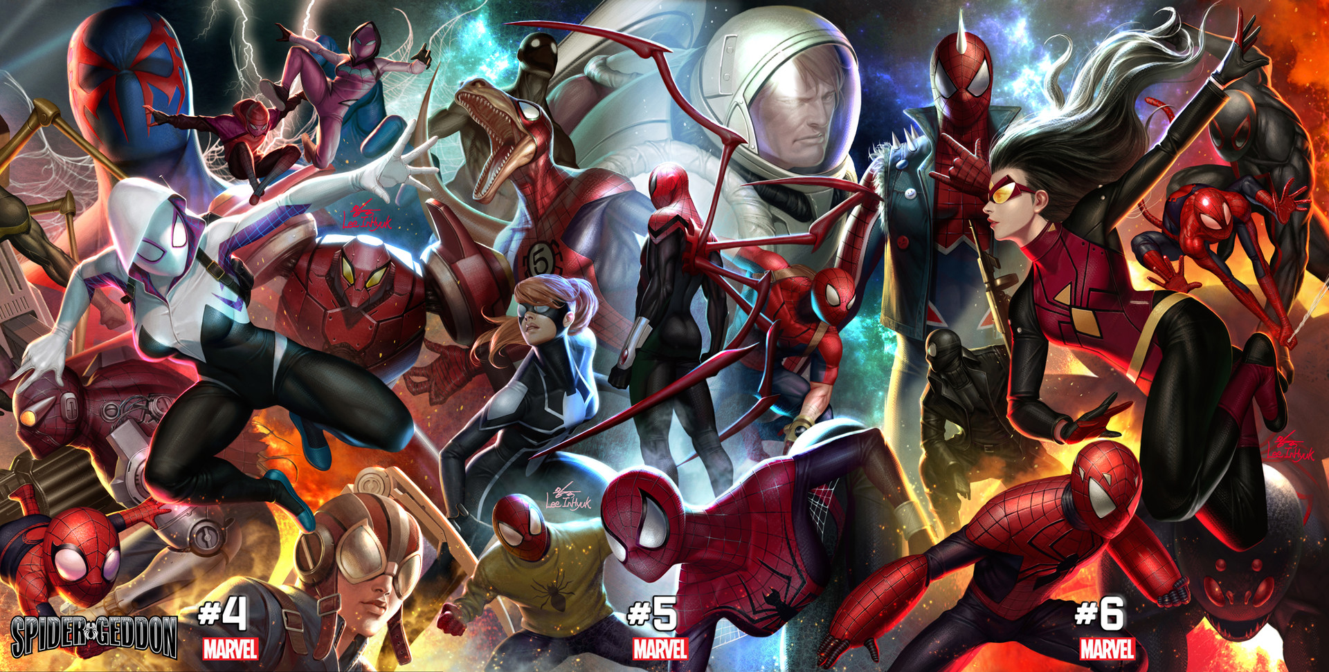 Inhyuk lee spider geddon 4 6