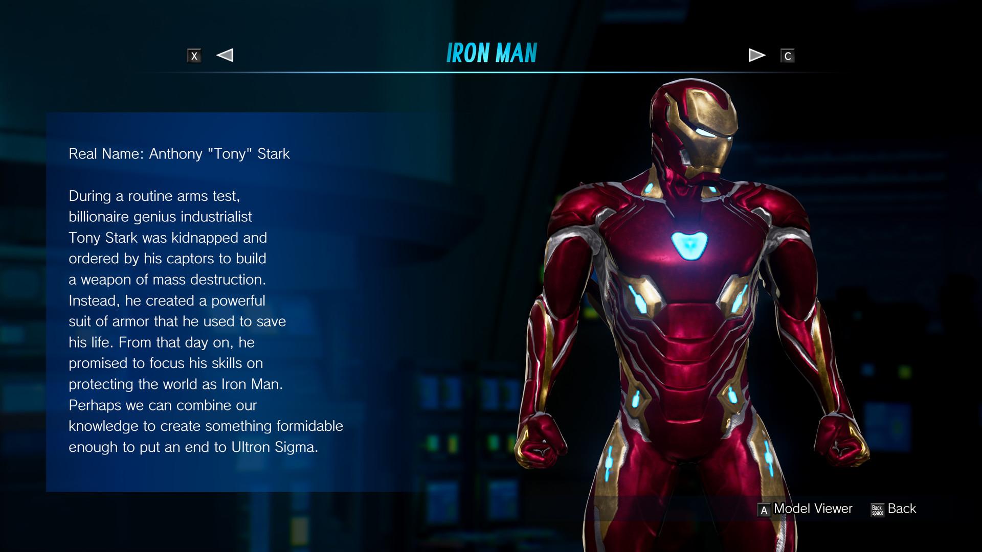 Artstation Infinity War Iron Man For Marvel Vs Capcom Infinite