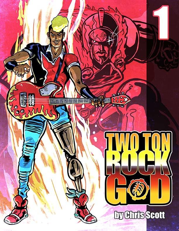 TWO TON ROCK GOD #1