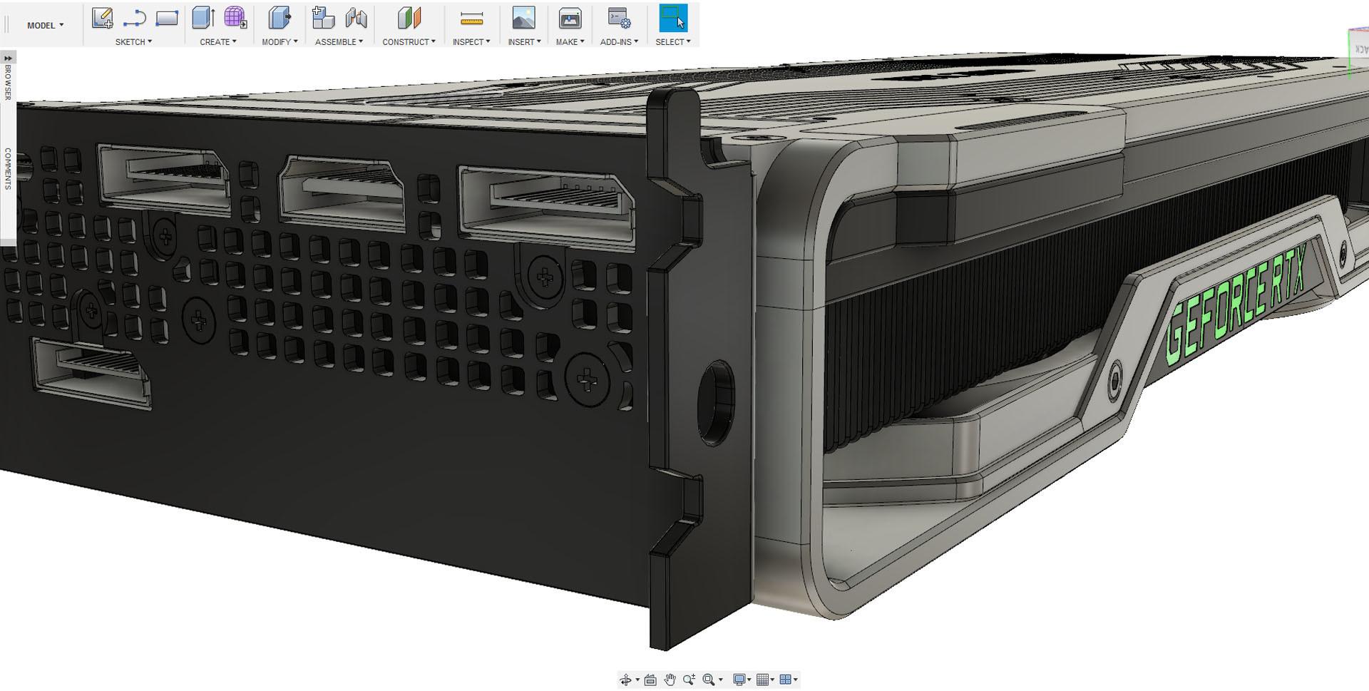 ArtStation - Nvidia Geforce RTX 2080 Product Configurator