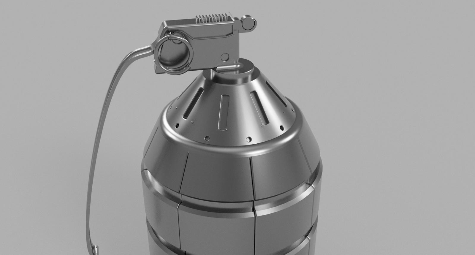 Grenade test