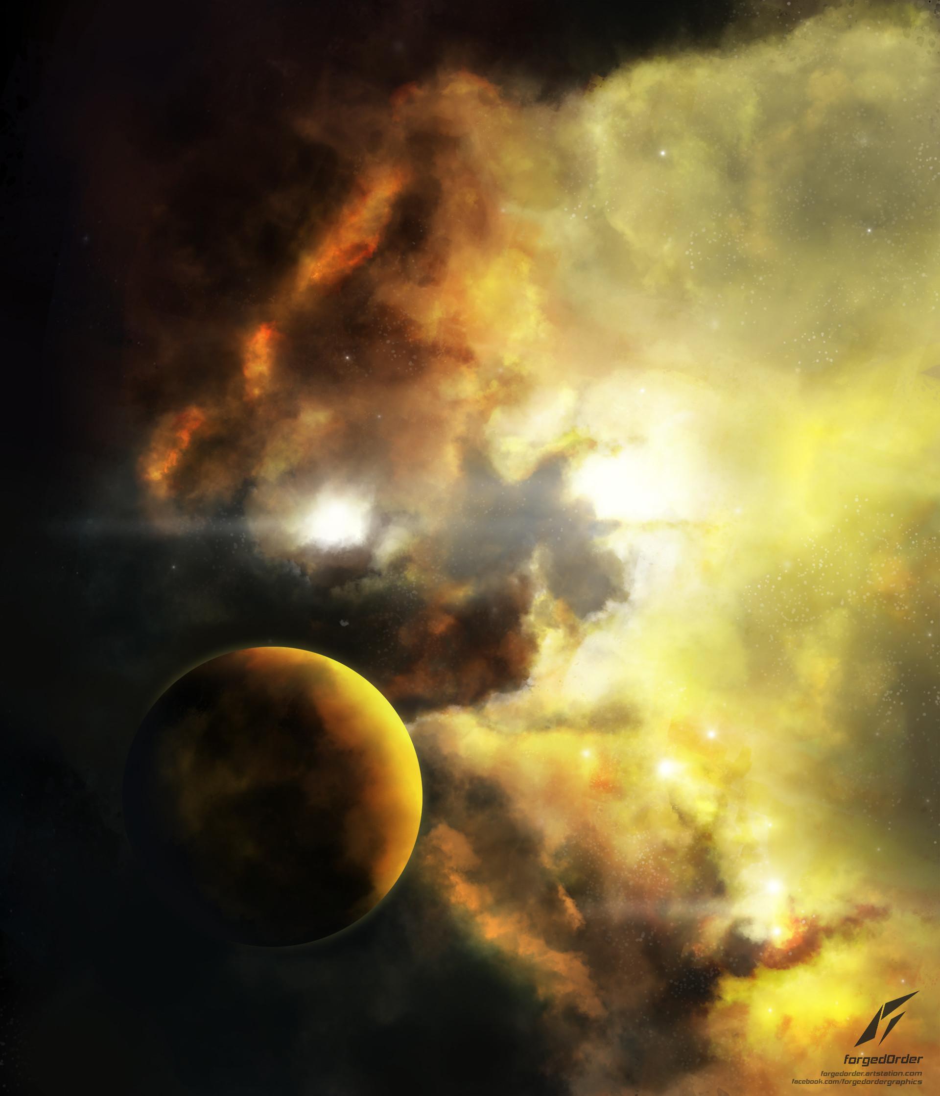 Attila gallik forgedorder nebula