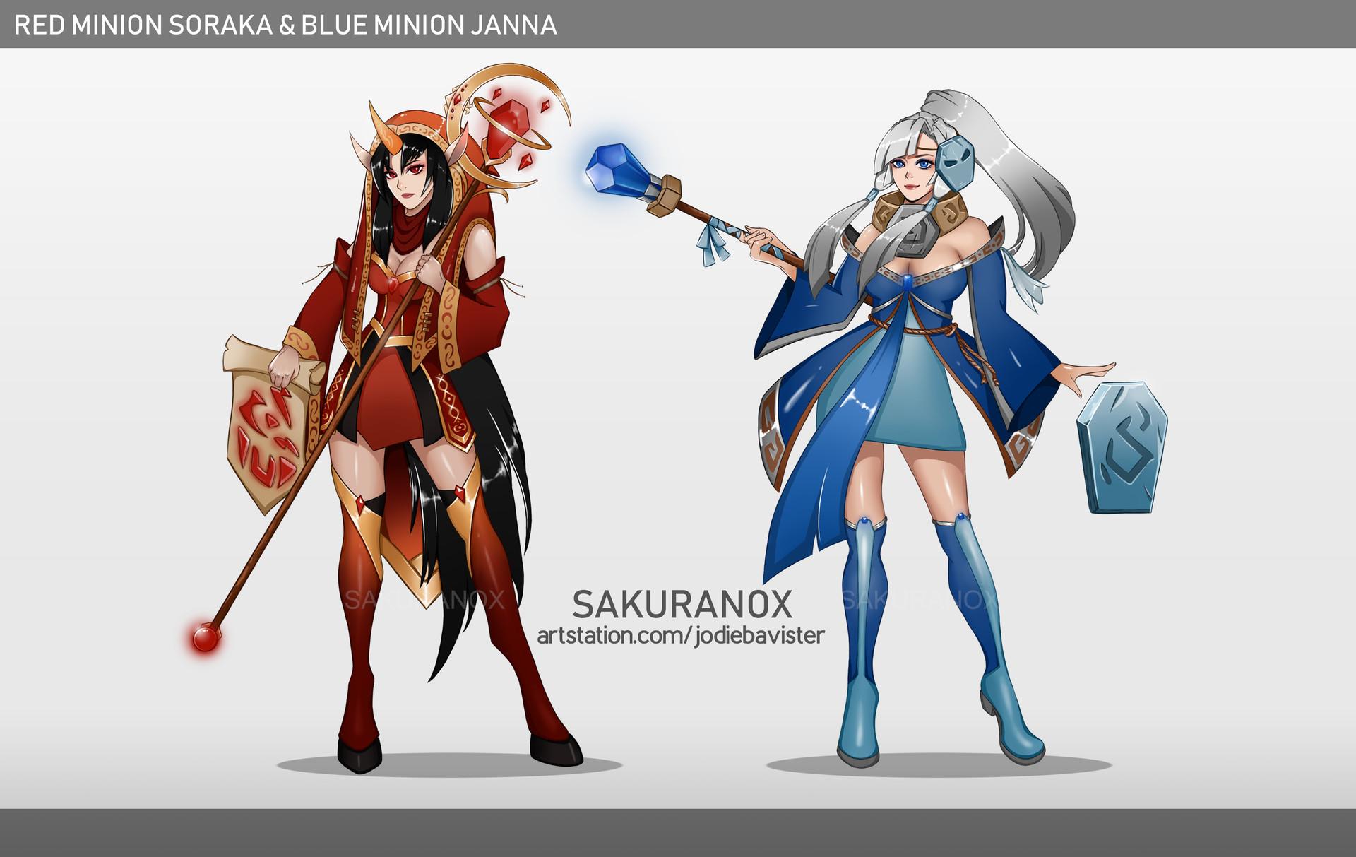 ArtStation - League of Legends Minion Skins Concept: Red