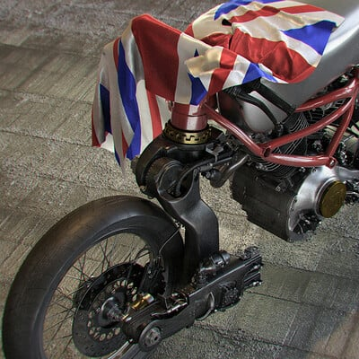 Ying te lien concept bike prototype