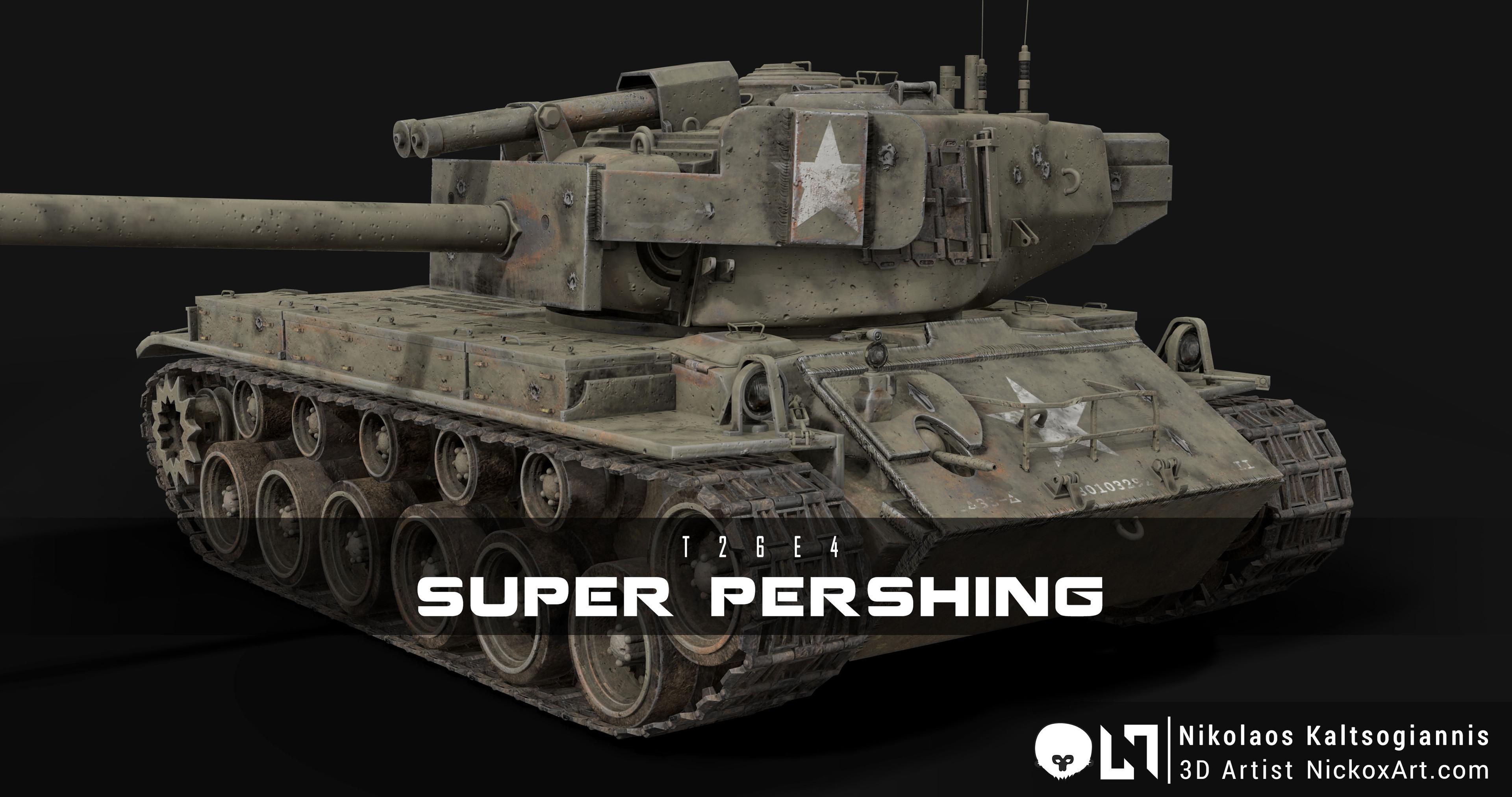 T26E4 Super Pershing : US Army Heavy Tank